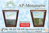 AP-Menuiserie: Remplacement fenêtre bois Rénovation Velux PVC Double vitrage 15 mm