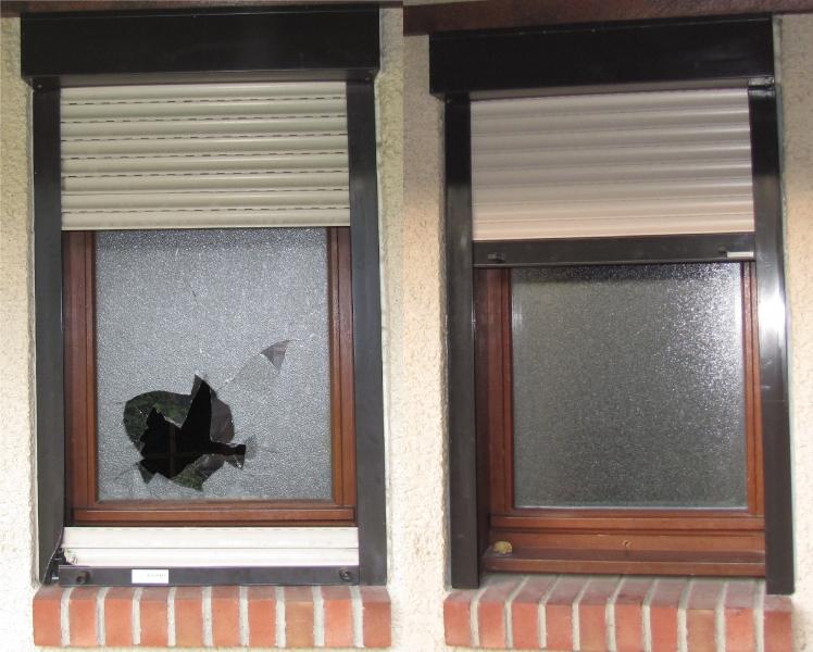 Remplacement du double vitrage reparation du volet roulant - Remplacement vitre porte fenetre ...